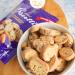 Glutensiz Yaban Mersinli Mini Biscotti Kıtır Kurabiye 150g