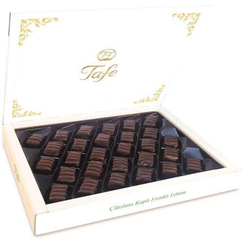 Çikolata Kaplı Fıstıklı Lokum 500g