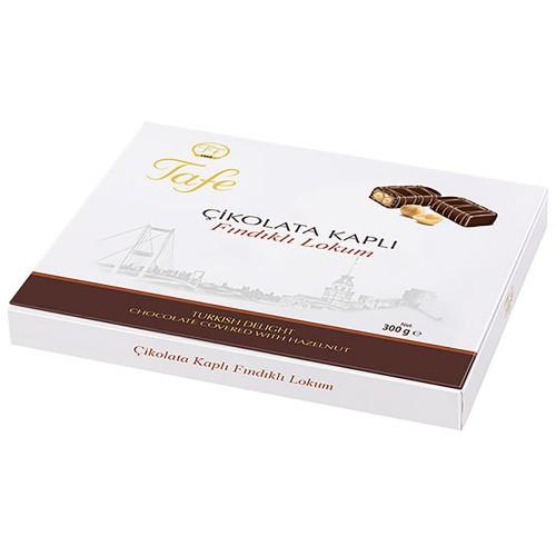 Çikolata Kaplı Fındıklı Lokum 300g
