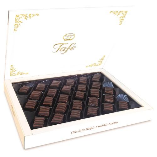 Çikolata Kaplı Fındıklı Lokum 500g