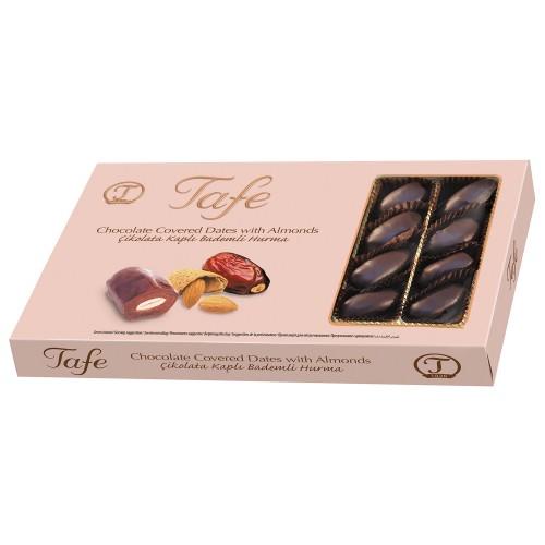 Çikolata Kaplı Bademli Hurma 225g