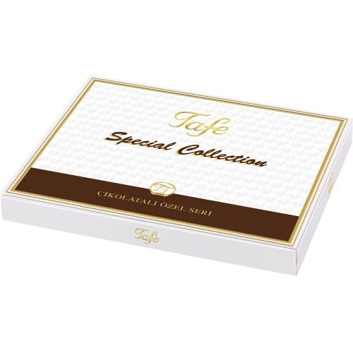Çikolata Kaplı Fıstıklı Ve Fındıklı Özel Lokum 600g