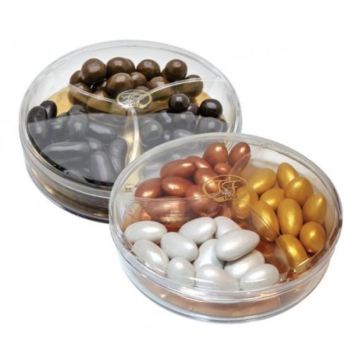 Sedefli Karışık Renkli Badem Draje ve Çikolata Kaplı Mix Draje 2'li paket 240g